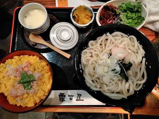 日替り丼とうどんセット