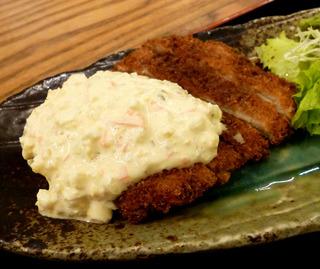 白身魚フライ タルタルソース