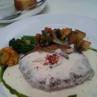 豆腐と豆乳のヘルシー手ごねハンバーグステーキ