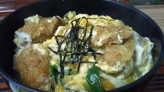 かきフライ丼