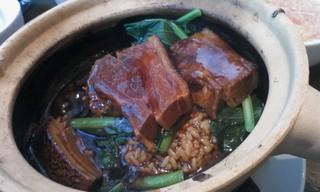 豚の角煮 土鍋ご飯