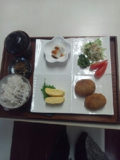 円空芋のコロッケ