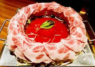 イベリコ豚の肉炊き鍋