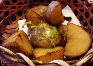 美深産キタアカリのフライドポテト