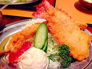 海老ふりゃ~食べくらべ定食