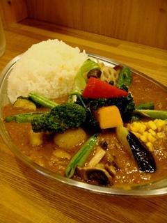 野菜とポークのカレー
