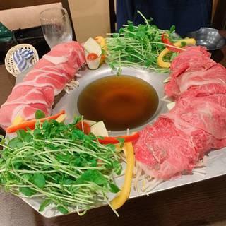 自家製コンソメ鍋メインの茶屋坂コース