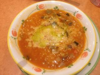 海老と野菜のトマトリゾット
