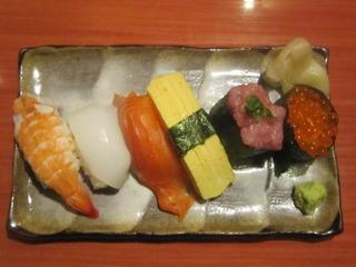寿司盛合せ6貫