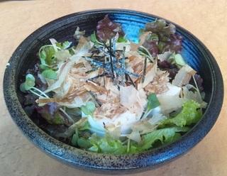 カツオたっぷり豆腐サラダ