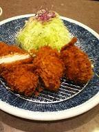 かきロース定食