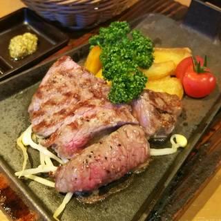 国産黒毛牛しんしんステーキ