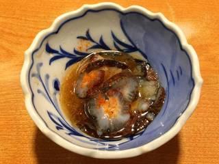 ナマコポン酢