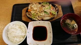 ジンギスカン定食