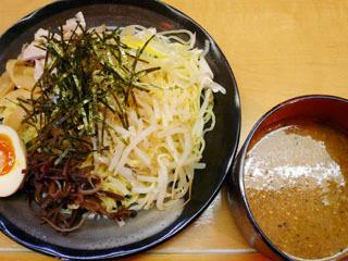 冷しつけ麺(ピリ辛味噌味)