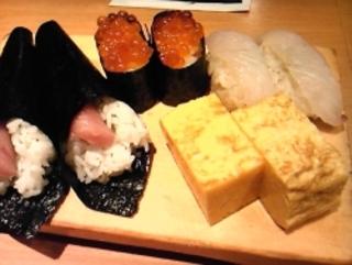 高級江戸前寿司食べ放題