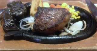 熟成ブドウ牛ロースステーキ
