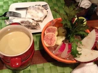 鎌倉野菜のカラフルバーニャカウダ