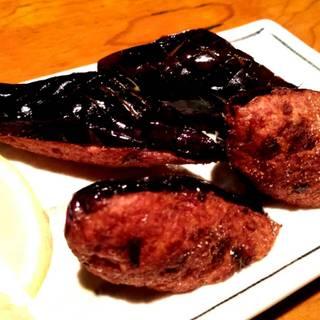 茄子の肉詰め