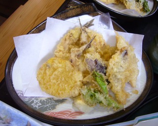 いわしの天ぷら