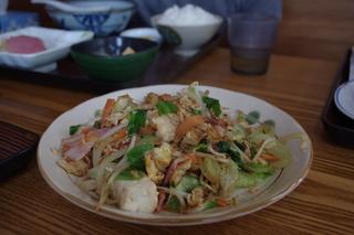 豆腐ちゃんぷる定食