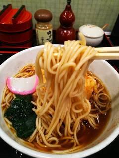 かき揚げ天麩羅蕎麦