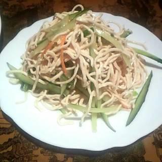特製干し豆腐サラダ
