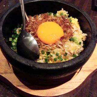 石焼シャケ炒飯