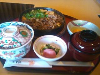すきやき定食(ロース)