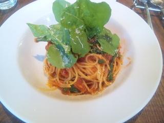 ベーコンと本日の鎌倉野菜のフェデリーニ