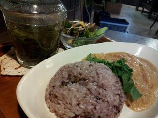 八穀米のカレー