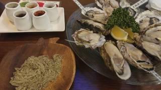 本日の牡蠣5種盛り