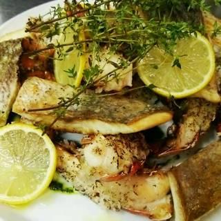 真鯛とオマール海老のグリル