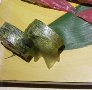 三陸鯖の棒寿司