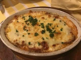 茄子のチーズ焼きパルマ風