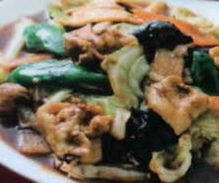 肉と野菜の味噌炒め