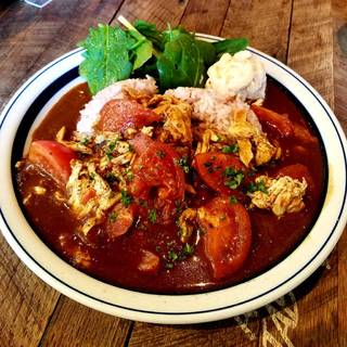 ブレスト・チキンと完熟トマトのカレー