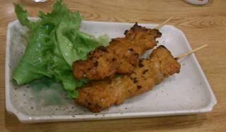 豚バラ味噌串