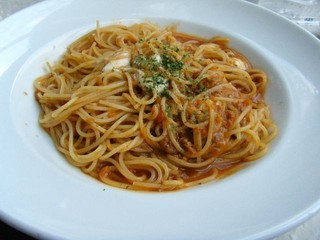 本日のスパゲッティーニ