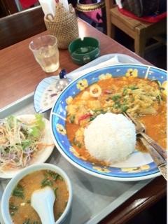 海鮮カレー炒めセット