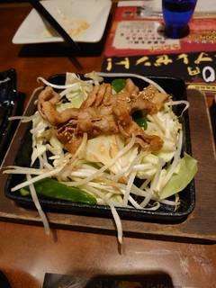 たっぷり野菜と豚の生姜焼
