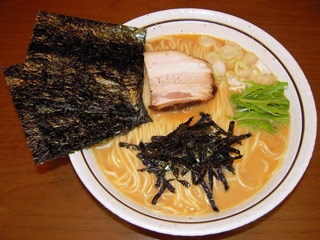 濃厚トロトロスープのラーメン(濃口)