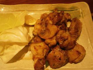 地鶏正肉黒胡椒焼き