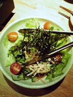 シャキシャキゴボウサラダ