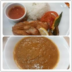 若鶏グリルと野菜のシンガポールカレー