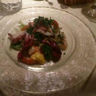 鮮魚のマリネ サラダ仕立て