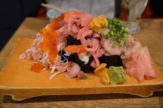 ぶっかけ寿司こぼれ盛り