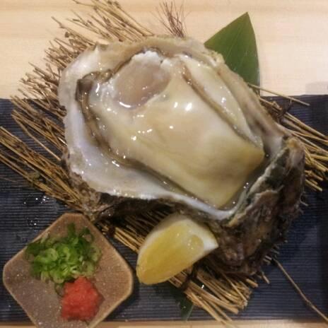 岩牡蠣 自家製ポン酢