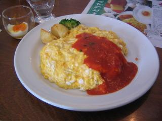 セイアグリー健康卵のオムライスセット