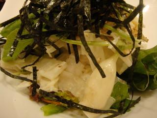 カニと大根のサラダ